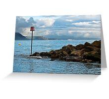Between Storms ~ Lyme Regis  Greeting Card