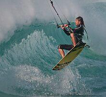 Kiting Los Lances by AJM Wind+Kite