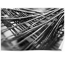 Weave of wire Poster