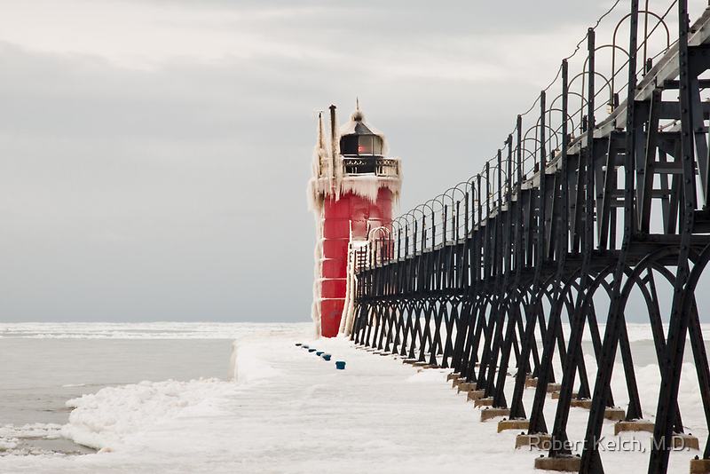 A calm winter day for this sentry by Robert Kelch, M.D.