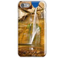 Lower Calf Creek falls iPhone Case/Skin