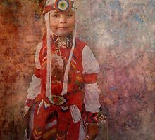 Shoshone Indian Boy by Marie Luise  Strohmenger