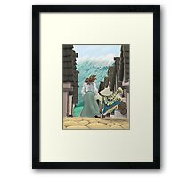 Heidi- Chapter One Framed Print