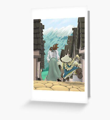 Heidi- Chapter One Greeting Card