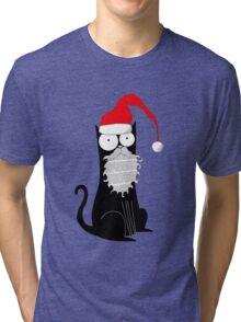 Santa Claws Tri-blend T-Shirt