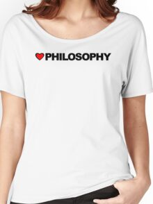 Love Philosophy Women's Relaxed Fit T-Shirt