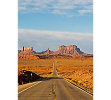 Wild West Highway Photographic Print