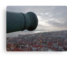 The Guns Over Lisbon Canvas Print