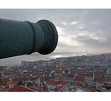 The Guns Over Lisbon Photographic Print