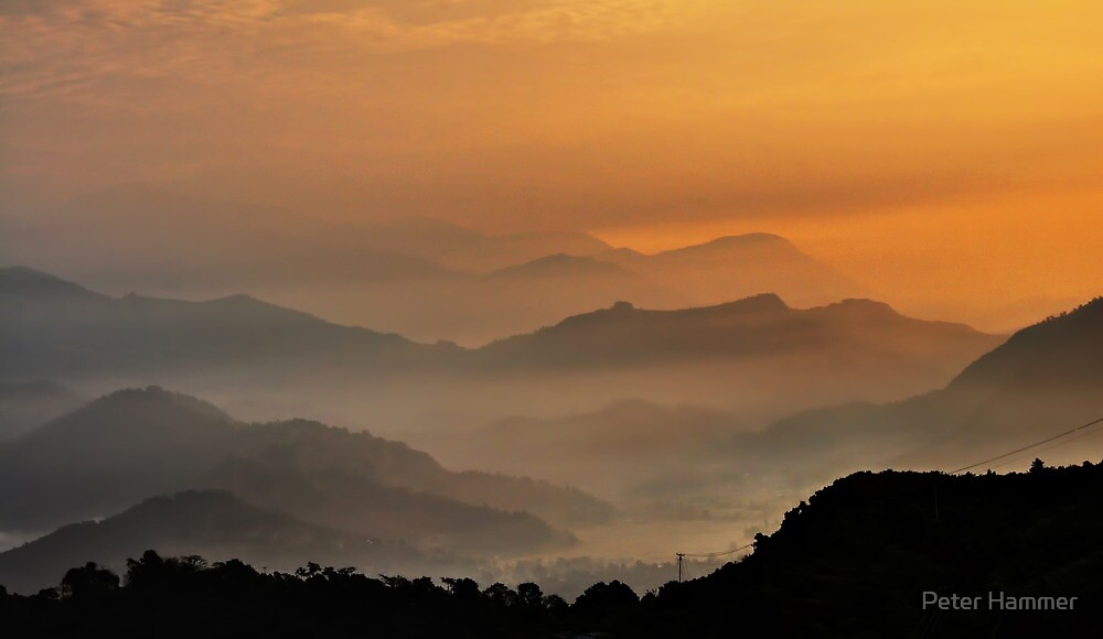 Hills of Nepal by Peter Hammer