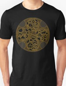Tick-Tock Poem in Circular Gallifreyan Unisex T-Shirt