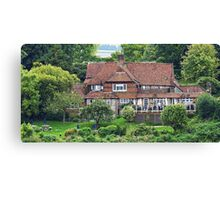 """"""" The Back of the George and Dragon"""" Canvas Print"""