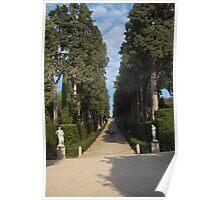 Florence - Giardio di Boboli Poster