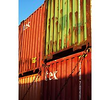 Containers Photographic Print