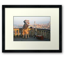 Florence - Piazzale Michelangelo Framed Print