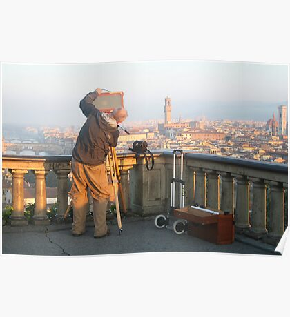 Florence - Piazzale Michelangelo Poster
