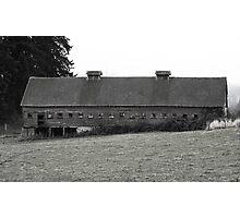 Window barn Photographic Print
