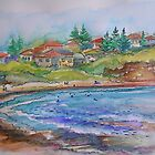 Mona Vale Beach- Mona Vale, Australia by Paulina Kazarinov