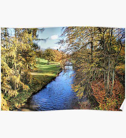 River Ure - Broughton Estate Poster