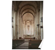 Nave Cunault church 19840222 0016  Poster