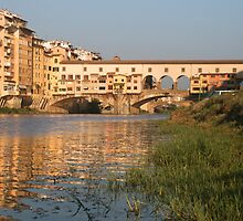 Florence - Ponte Vecchio by Stephen Cross Photography