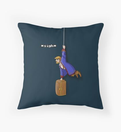 Pocket Pirate Throw Pillow