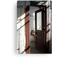 forced entry II - factory findings Canvas Print