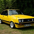 Ford Escort MK2 RS 2000 yellow by Martyn Franklin