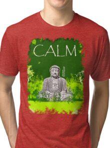 Calm Buddha Tri-blend T-Shirt