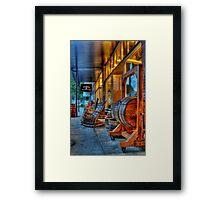 BarrelShop Framed Print