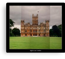 Highclere Castle - Newbury, Berkshire Canvas Print