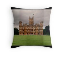 Highclere Castle - Newbury, Berkshire Throw Pillow