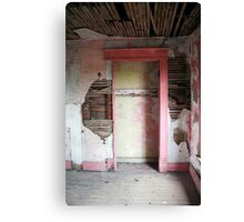 the pink room - residential findings Canvas Print