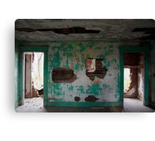 the turquoise room - residential findings Canvas Print