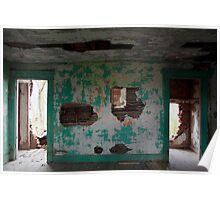 the turquoise room - residential findings Poster