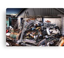 Bumpers, Grills, Doors And More Canvas Print