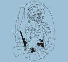 Higurashi no naku koro ni - Rena (black) Baby Tee
