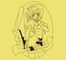 Higurashi no naku koro ni - Rena (black) Kids Tee