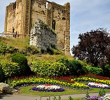 Guildford Castle in the Summer by Lisa Williams