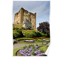Guildford Castle in the Summer Poster