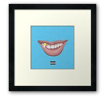 Really Really Yeah  Framed Print