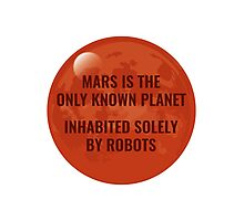 Mars Robot Photographic Print