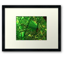 Amid the Bramble Patch Framed Print