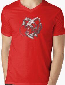 Camera From Heaven Mens V-Neck T-Shirt