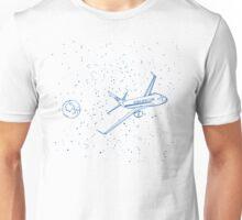 Telecom Modern Adventures Line Drawing T-Shirt