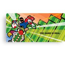 Inception Mario Canvas Print