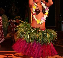Young Polynesian Dancer by Laurel Talabere