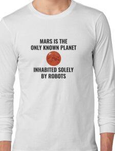 Mars Robot Long Sleeve T-Shirt