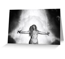 Beyoncé at MIA  Greeting Card