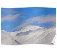 Snow Bound Skiddaw Poster